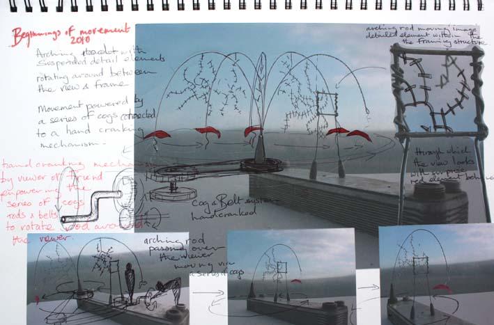 Movement sketchbook